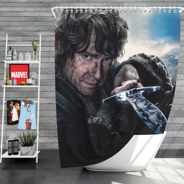 Bilbo Baggins in Lord Of The Rings Movie Shower Curtain