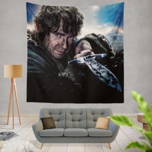 Bilbo Baggins in Lord Of The Rings Movie Wall Hanging Tapestry