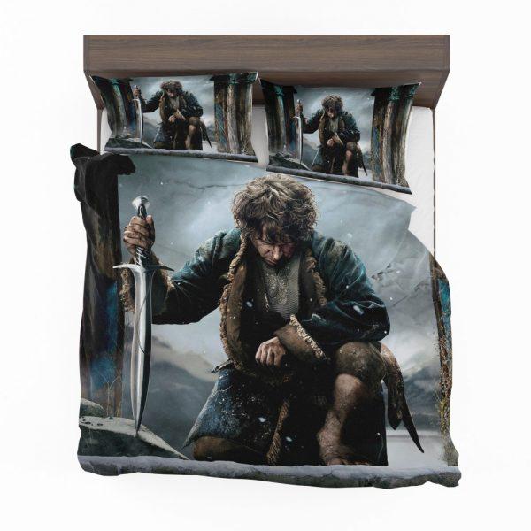 Bilbo Baggins in The Hobbit Battle of the Five Armies Movie Bedding Set 2