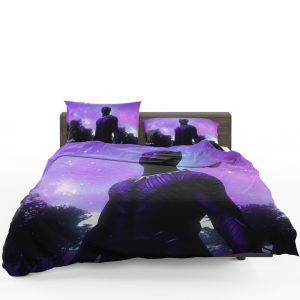 Black Panther Movie Artistic Marvel Comics Bedding Set 1