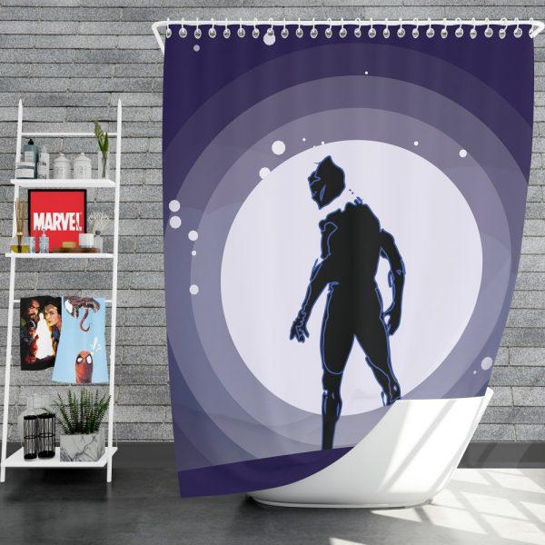 Black Panther Movie Marvel Comics Shower Curtain