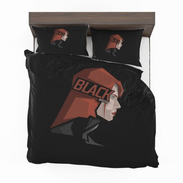 Black Widow Movie Bedding Set 2