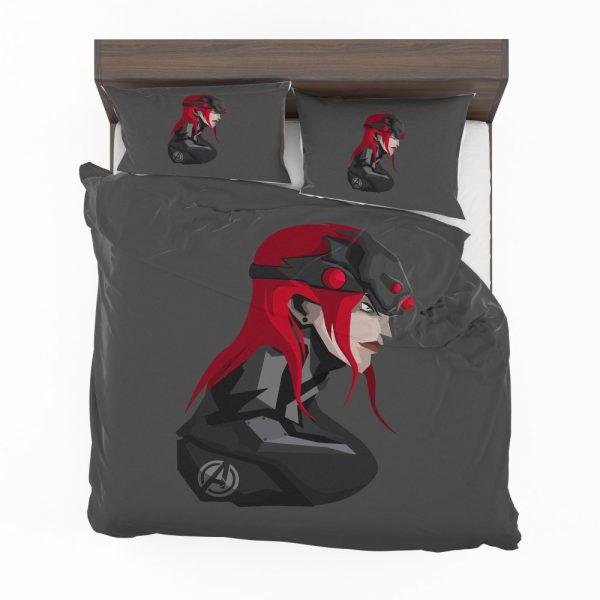 Black Widow Movie Marvel MCU Super Women Avenger Bedding Set 2