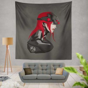 Black Widow Movie Marvel MCU Super Women Avenger Wall Hanging Tapestry