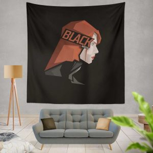 Black Widow Movie Wall Hanging Tapestry