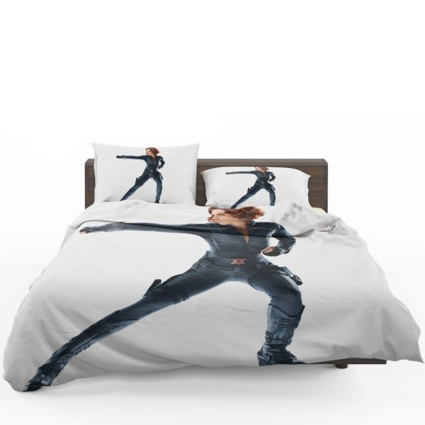 Black Widow in The Avengers Movie Scarlett Johansson Bedding Set 1