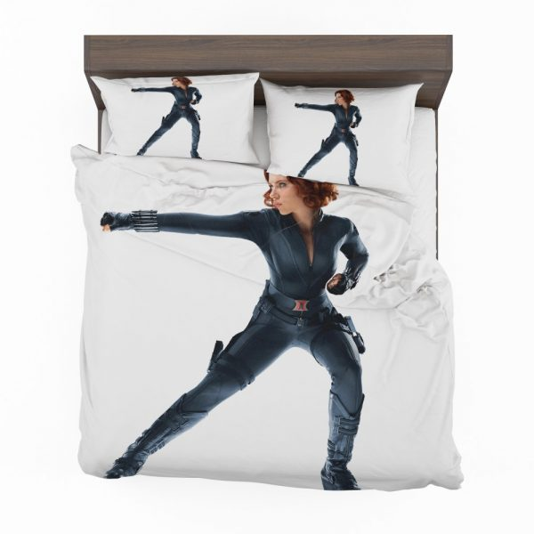 Black Widow in The Avengers Movie Scarlett Johansson Bedding Set 2