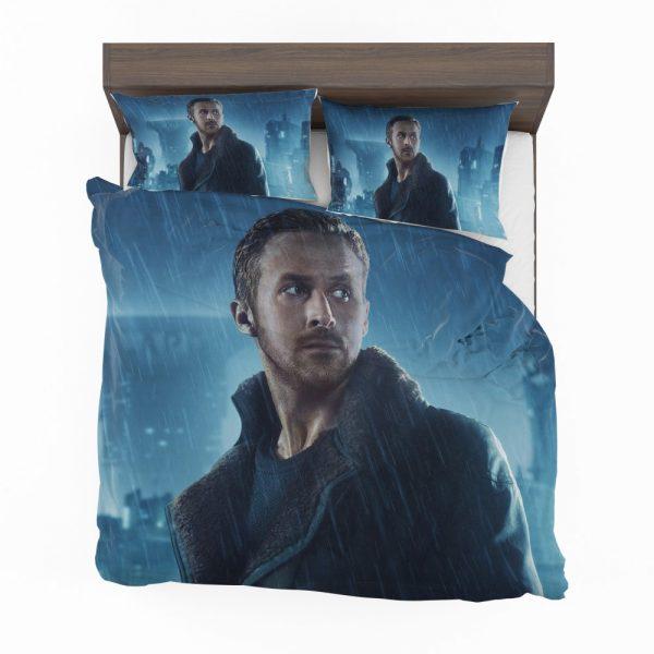 Blade Runner 2049 Movie Officer K Ryan Gosling Bedding Set 2