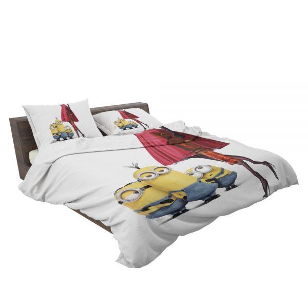 Bob Stuart Kevin Minions Movie  Bedding Set 3