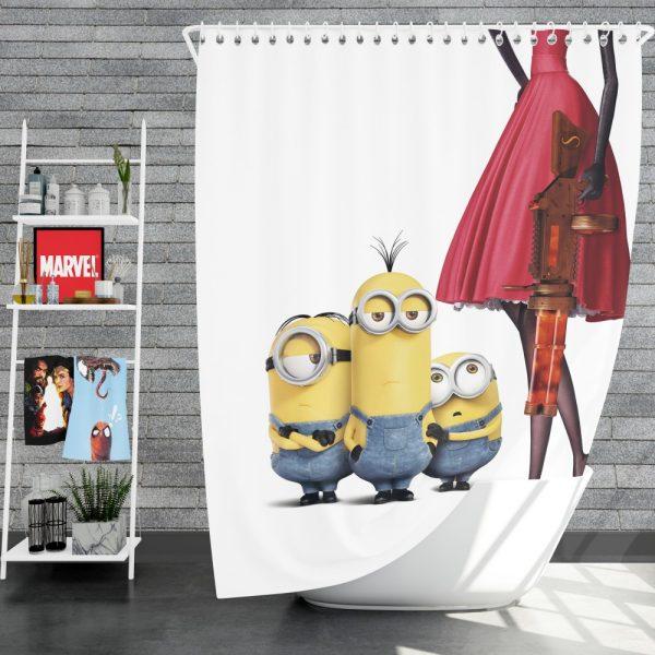 Bob Stuart Kevin Minions MovieShower Curtain