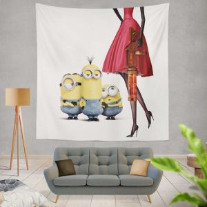 Bob Stuart Kevin Minions MovieWall Hanging Tapestry