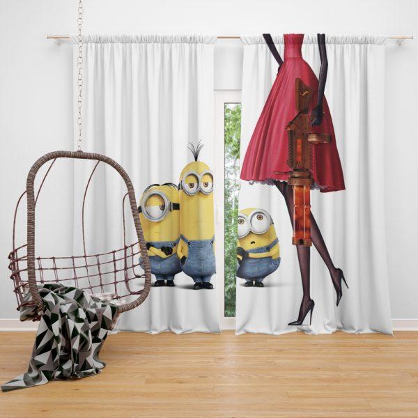 Bob Stuart Kevin Minions MovieWindow Curtain