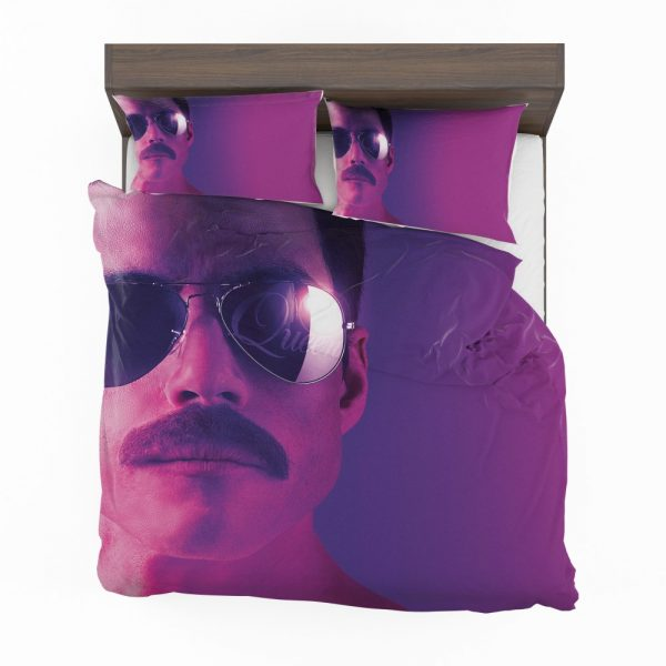 Bohemian Rhapsody Movie Freddie Mercury Queen Rami Malek Bedding Set 2