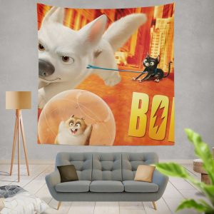 Bolt Movie Adventure Wall Hanging Tapestry