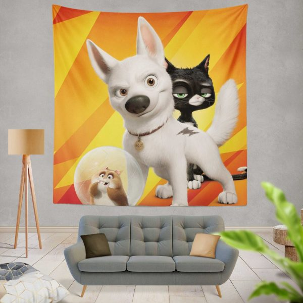 Bolt Movie Kids Wall Hanging Tapestry