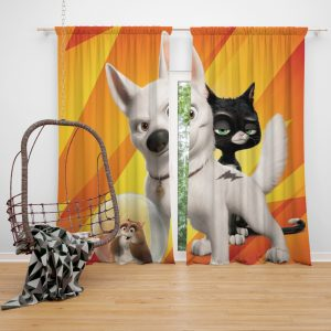 Bolt Movie Kids Window Curtain