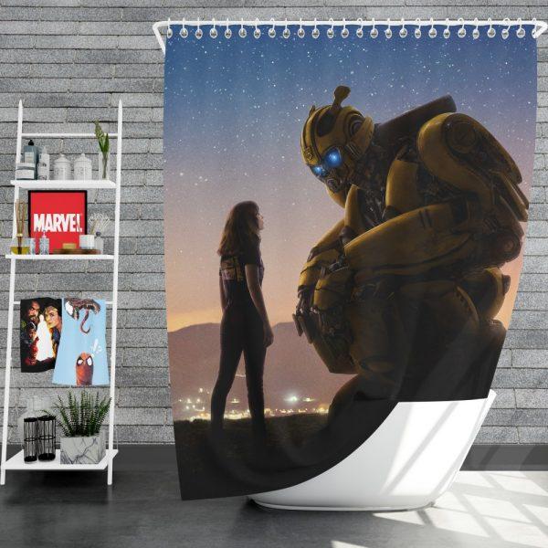 Bumblebee Movie Shower Curtain