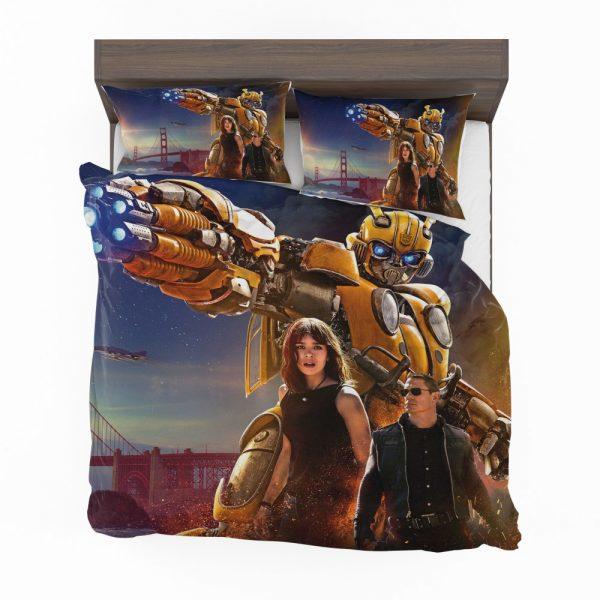 Bumblebee Movie Transformers Hailee Steinfeld John Cena Bedding Set 2