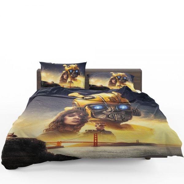 Bumblebee Movie Transformers Hailee Steinfeld Sci-Fi Thriller Bedding Set 1