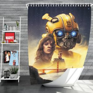 Bumblebee Movie Transformers Hailee Steinfeld Sci-Fi Thriller Shower Curtain