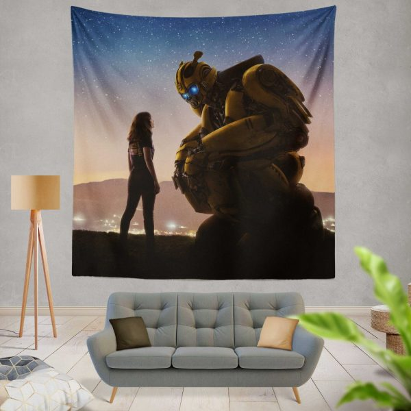 Bumblebee Movie Wall Hanging Tapestry