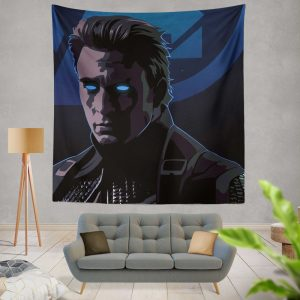 Captain America Avengers Endgame Movie Marvel Comics Wall Hanging Tapestry