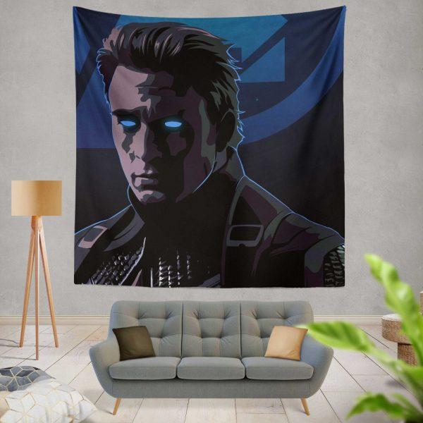 Captain America Avengers Endgame Movie Marvel Comics Wall Hanging Tapestry