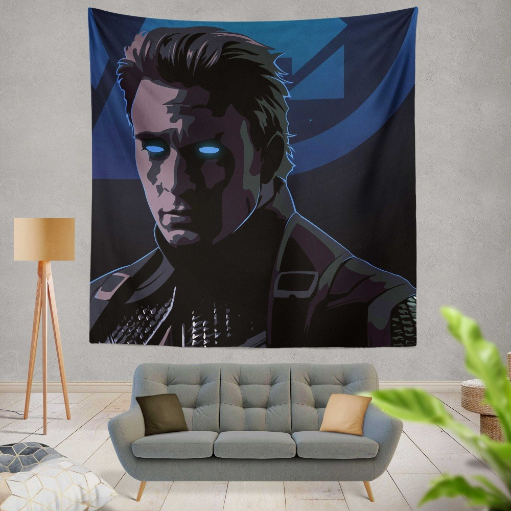 Captain America Avengers Endgame Movie Marvel Comics Wall Hanging