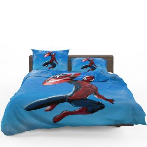 Captain America Civil War Movie Spider-Man Bedding Set 1