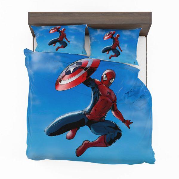 Captain America Civil War Movie Spider-Man Bedding Set 2