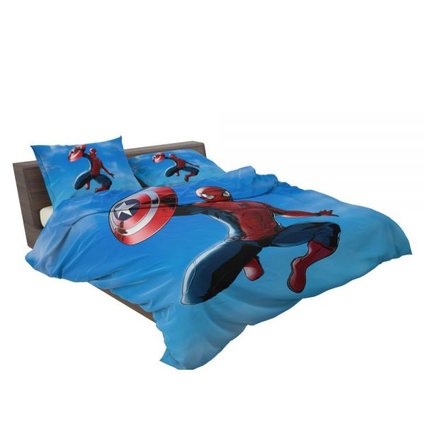 Captain America Civil War Movie Spider-Man Bedding Set 3