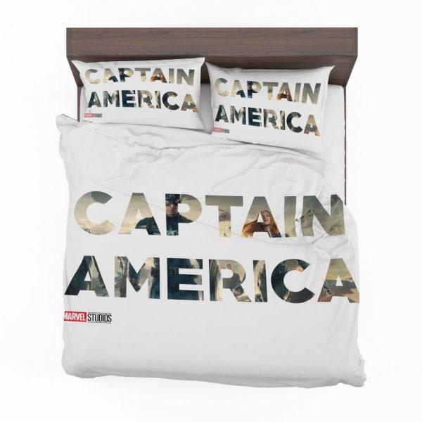 Captain America The First Avenger Movie Bedding Set 2