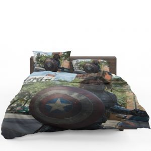Captain America The Winter Soldier Movie Bedding Set 1