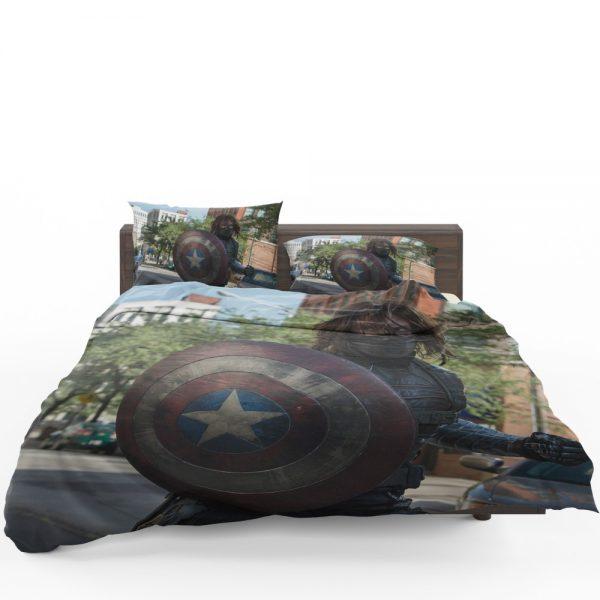 Captain America The Winter Soldier Movie Bedding Set 1