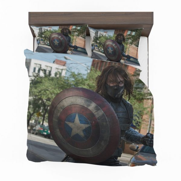 Captain America The Winter Soldier Movie Bedding Set 2