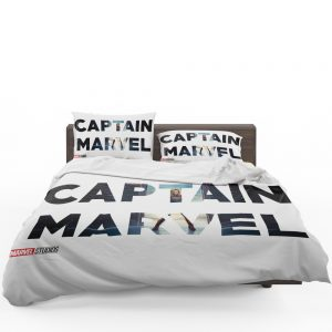 Captain Marvel Movie Bedding Set 1