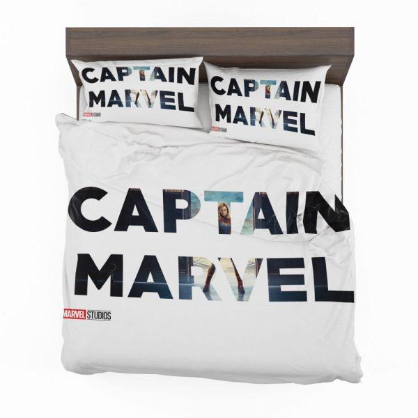 Captain Marvel Movie Bedding Set 2