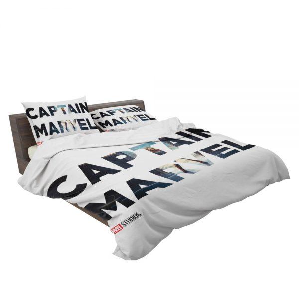 Captain Marvel Movie Bedding Set 3