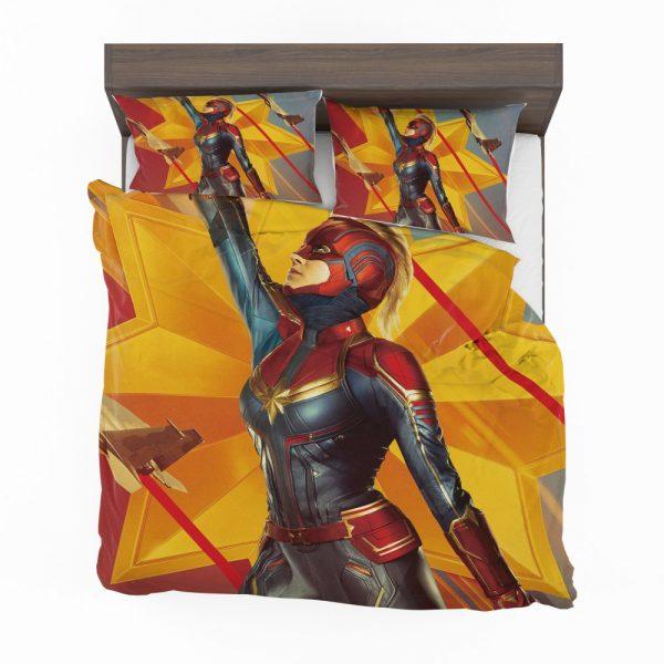 Captain Marvel Movie Brie Larson Avenger Bedding Set 2