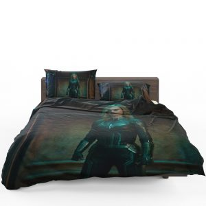 Captain Marvel Movie Brie Larson Bedding Set 1