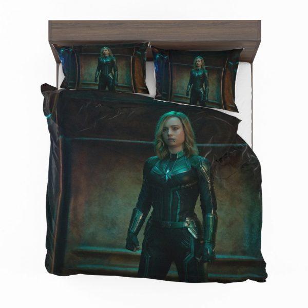 Captain Marvel Movie Brie Larson Bedding Set 2