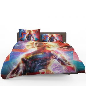 Captain Marvel Movie Brie Larson MCU Bedding Set 1