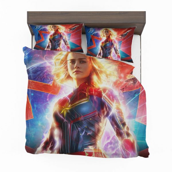 Captain Marvel Movie Brie Larson MCU Bedding Set 2