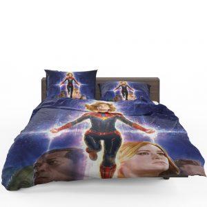 Captain Marvel Movie Brie Larson SHIELD Bedding Set 1