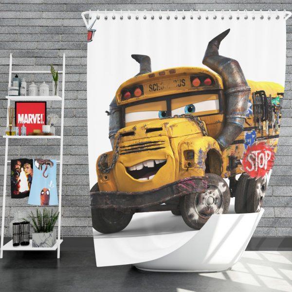 Cars 3 Movie Shower Curtain