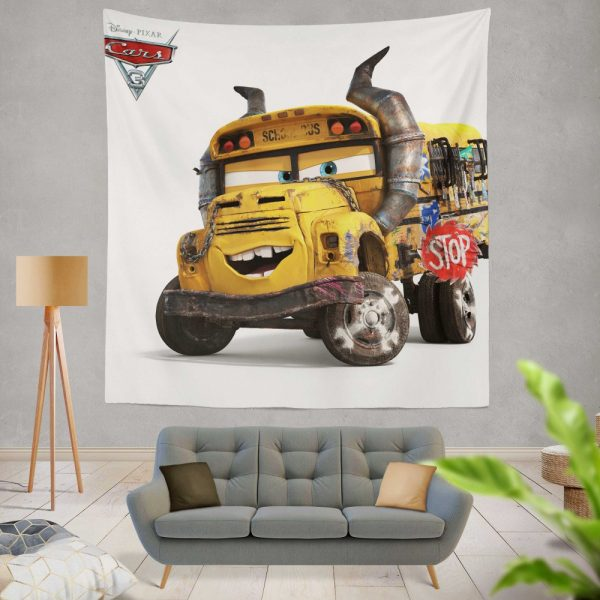 Cars 3 Movie Wall Hanging Tapestry