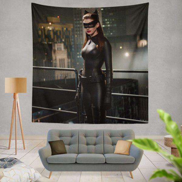 Catwoman in The Dark Knight Rises Movie Wall Hanging Tapestry