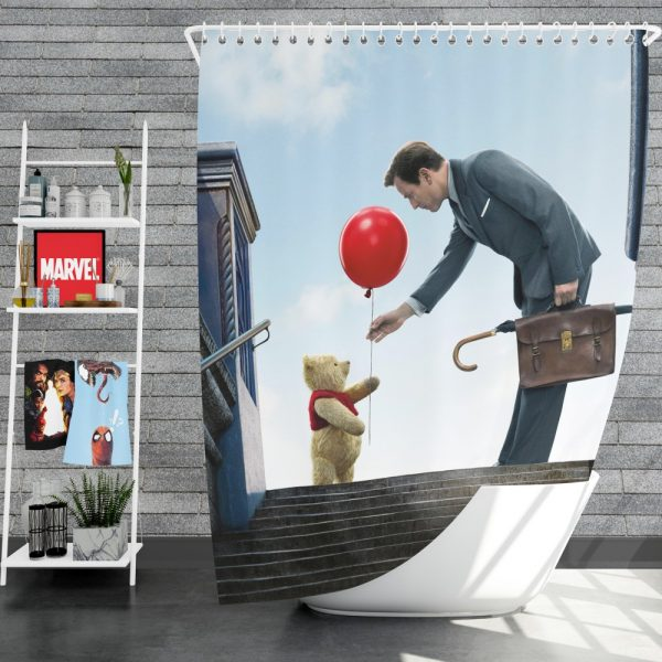 Christopher Robin Movie Shower Curtain