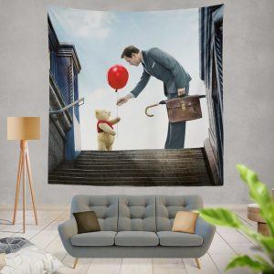 Christopher Robin Movie Wall Hanging Tapestry