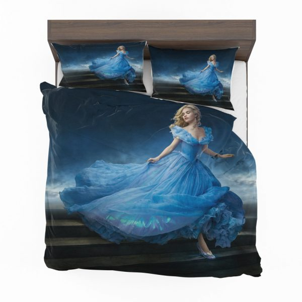 Cinderella Movie Lily James Bedding Set 2